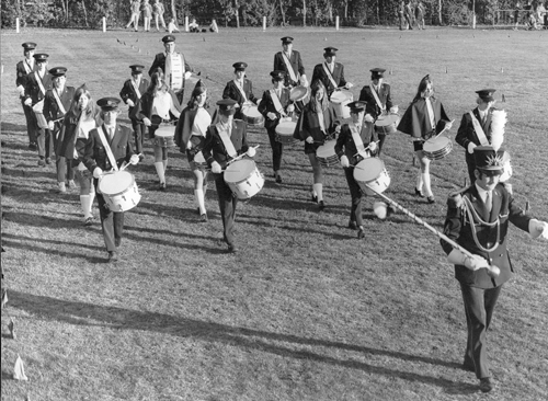 Concours drumband 1972
