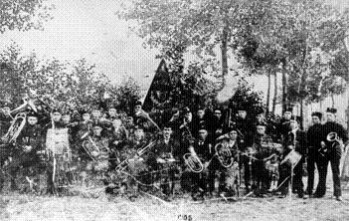 Fanfare eerste foto 1905