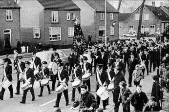 Fanfare eerste uniform 1964