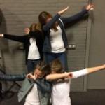 Aanmoedigingsprijs blazers Lieke van der Burght, Femke Adriaans, Marit van Dinter en Yara van der Cammen