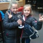 Esmee en Isa 2de prijs majoretten